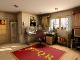 Mental Ray for Maya room 2 by withego