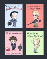 Sherlock Valentines by Clockwork-Fox