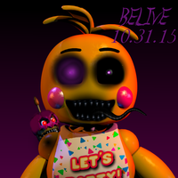 Nightmare Toy Chica| ThrPuppet by ThrPuppet