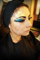 Egyptian makeup 5 by Kan3xO