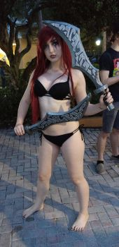 AFO pool party Katarina by kingofthedededes73