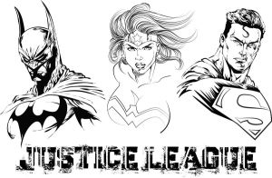 Justice League Tinity by RichBGuam