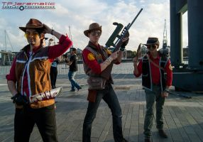 25th Oct MCM LON Team Fortress 2 RED Snipers by TPJerematic