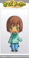 Me in Chibi Maker :3 by Devilinatrong