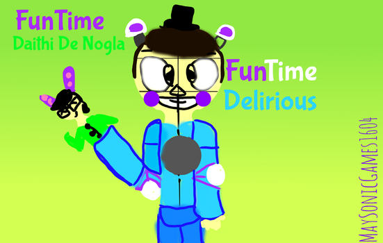 FunTime Delirious and FunTime Daithi De Nogla by Septiplier78