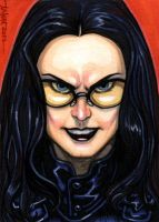 Sketchcard: The Baroness by Everwho