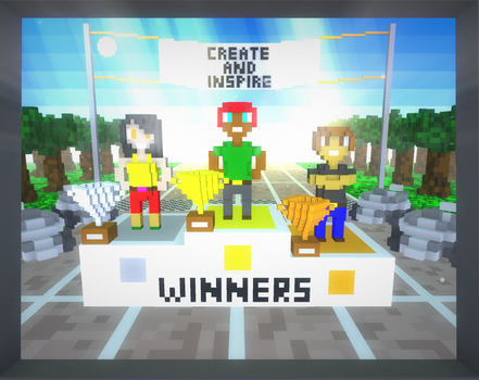 Create And Inspire Winners by SatyreX