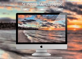 Sunset Wallpaper Multi Pack by Eternal-Polaroid