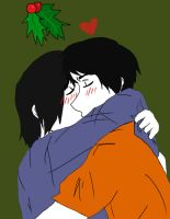 Under the Mistletoe Percico by FMA-Al-Lover