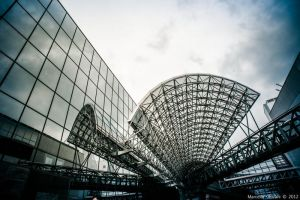 Part of the Kyoto station by decadeinthegrave