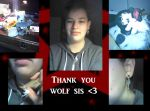 Thank You wolf sis :D by drajk