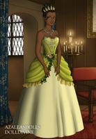 Princess Tiana from Princess and the Frog by dollmake