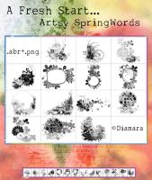 14ArtsySpringWords by Diamara