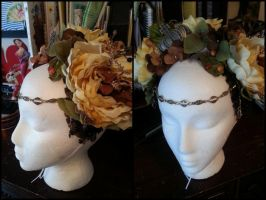 Custom Flower Headband by NoFlutter