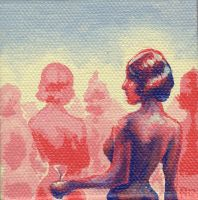 mini painting - 1 by loonerspacecraft
