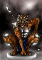 Cat Warrior - finished by kaio89
