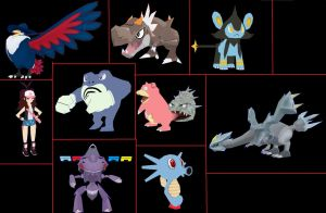 Some of  news pokemon papercraft by javierini