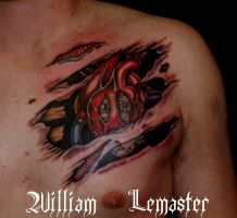 Steampunk Heart - Tattoo by Bill by SmilinPirateTattoo