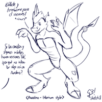Simple | Sketch'd by G3Drakoheart-Arts