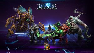 Heroes of the Storm - Warcraft Heroes - Villains by silverdarkhawk
