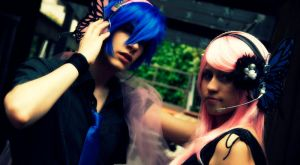 Kaito and Luka. by MWRobin