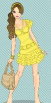 Disney Fashionistas: Belle by keb17