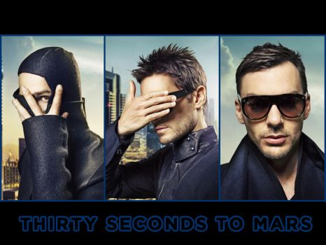 30 Seconds to Mars Wall 302 by martiansoldier