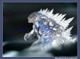 Godzilla 2014: Junior by Dezarath