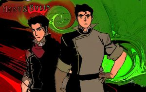 mako and bolin by EeKeRs05