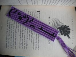 tableflip bookmark by Me-is-kohaku