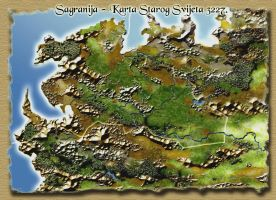 Map of the Old World by Sedeslav