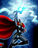 Thor - My God Has A Big Hammer by What-the-Gaff