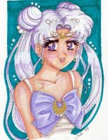 Queen Serenity by GreenInkling