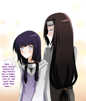 Hyuuga Ponytails by red-X-snow
