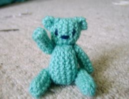 Knitted Bear by bolt-for-home