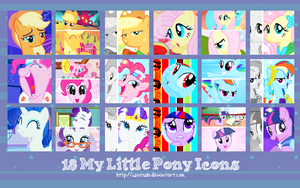 My Little Pony Icons - Pack by xSatoshi