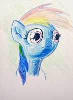 50 min Color Pencil Dash by shoeunit