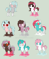 Inky Breeding 6- Ice Cold Ink and Pink Inkimus by OnigiriA
