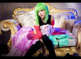 Vocaloid Gumi Dragon cosplay by Lykanka
