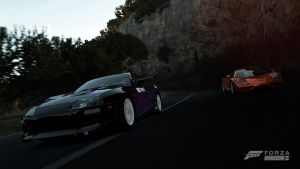 FH2: Supra v F1 by 98SupraFurry