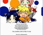 Naruto Journal Skin by bunnydesuuu