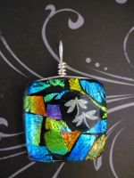 Dragonfly Dance Fused Glass by FusedElegance
