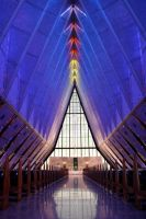 Air Force Academy Chapel by torchdesigns
