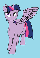 Princess Twilight Sparkle by TheDragonInTheCenter