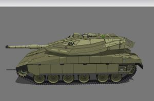 Merkava Mk.4 side by louielikespie