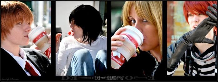 Death Note at Starbucks by Maru-Light