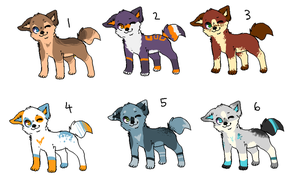 Adopts: Batch 2 CLOSED by eaglets