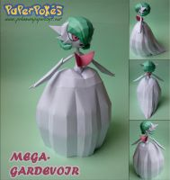 M-GARDEVOIR Papercraft by Olber-Correa