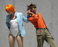 AX10-HGSS Brock and Misty by moonymonster