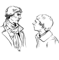 Sherlock and John by VikingSoup
